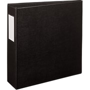 Avery Durable 3-Inch Slant D 3-Ring Non-View Binder, Black (27267/27654)