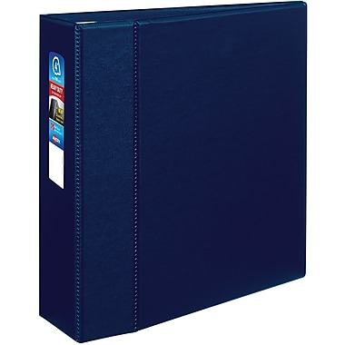 Avery® Heavy Duty Non-View Binder with Locking One Touch EZD™ Rings, 11 x 8 1/2, Non-View, Each (79824)