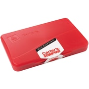 """Avery Micropore Stamp Pad, Size 1, Red, 2 3/4"""" x 4 1/4"""""""