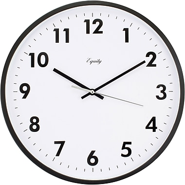 Equity by La Crosse 25509 14 Inch Commercial Analog Clock