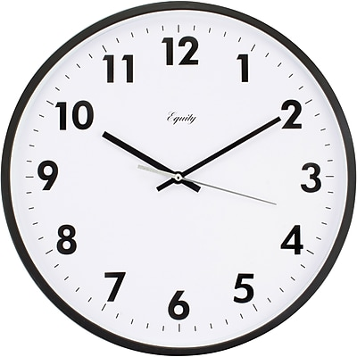 Equity by La Crosse 14 Inch Commercial Analog Clock (25509)