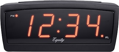 Equity by La Crosse 12V LED Travel Alarm clock (30902)