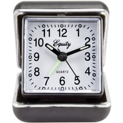 Equity by La Crosse Quartz Fold-Up Travel Alarm Clock (20080)