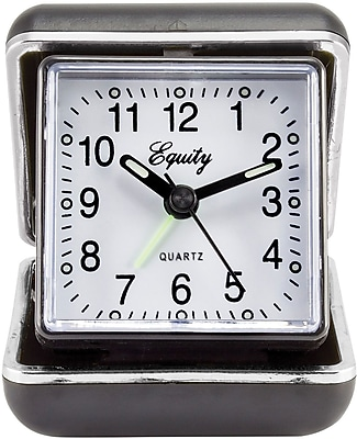 Equity by La Crosse Quartz Fold-Up Travel Alarm Clock (20080)