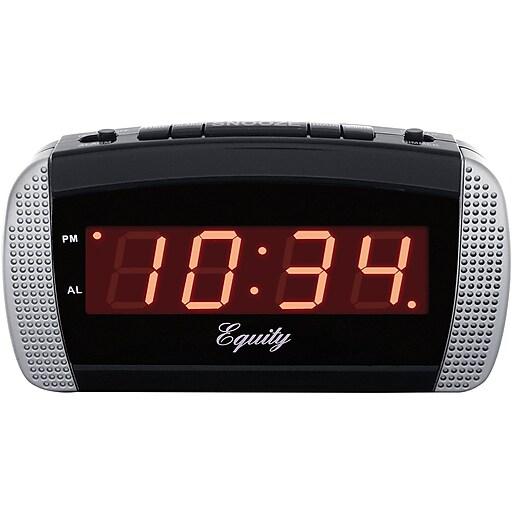 Equity by La Crosse Super Loud 0.9 Inch LED Alarm Clock (30240)