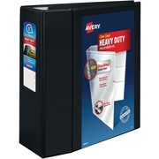"Avery 5"" Heavy-Duty View Binder with One Touch™ EZD Rings, Black"