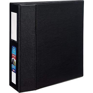 Avery Heavy-Duty 4-Inch EZD 3-Ring Non-View Binder, Black (79994)