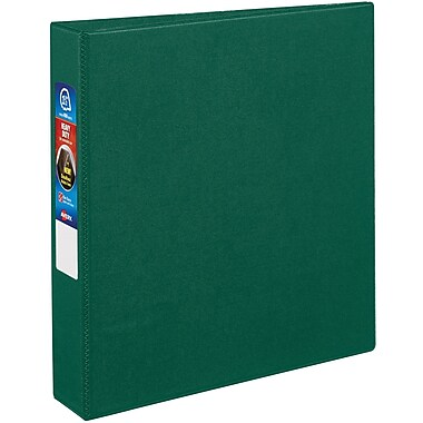Avery Heavy-Duty One Touch EZD 1.5-Inch 3-Ring Binder, Green (79-785)