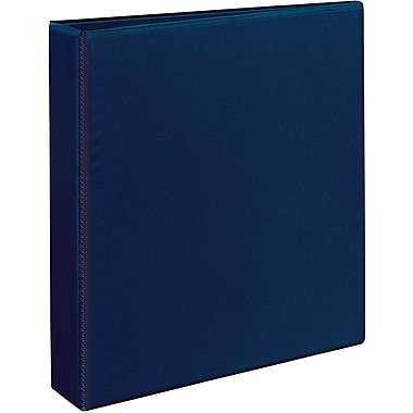 Avery Heavy-Duty One Touch EZD 1.5-Inch 3-Ring View Binder, Navy Blue (79805)