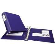"""2"""" Avery® Heavy Duty Binders with Round Ring and Label Holder, Blue"""