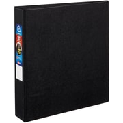 "Avery Heavy-Duty 1.5"" 3-Ring Non-View Binder, Black and frost (79985)"