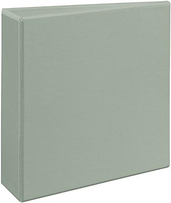 Avery Heavy-Duty 3-Inch Slant D 3-Ring View Binder, Gray (5603)