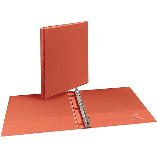 "1/2"" Avery® Bright-Orange Durable View Binder With Slant-D"