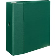 Avery Heavy-Duty EZD 5-Inch 3-Ring Non-View Binder, Green (79-786)