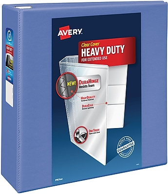 Avery Heavy-Duty View Binder with 4
