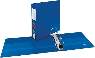 Avery® Heavy Duty Non-View Binder with One Touch EZD™ Rings, 11 x 8 1/2, Non-View, 1/Carton (21016)
