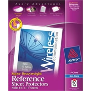 Avery® Sheet Protectors, Super Heavyweight Polypropylene, 50/Box, Non Glare