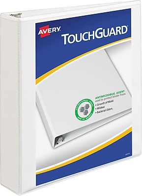Avery TouchGuard Protection View Binder with 1-1/2