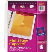 Avery® Multi-Page Sheet Protectors