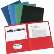 Avery Two-Pocket Folders, Multicolor, 25/Box (AVE47993)