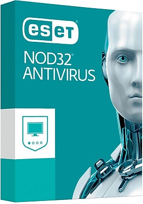 ESET NOD32 Antivirus 2017 3 User for Windows (1-3 Users) [Download]