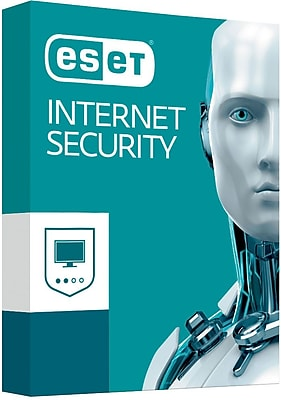 ESET Internet Security 2017 for Windows (3 User) [Download]