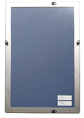 Staples® Aluminum Snap Frame, 11