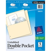 Avery® Double Pocket Dividers
