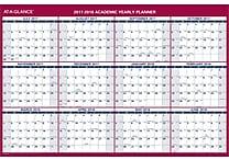 2017-2018 AT-A-GLANCE® 32'x48' Vertical/Horizontal Reversible Academic Erasable Wall Calendar,12 Months (PM36AP-28-18)