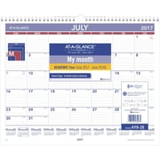 "2017-2018 AT-A-GLANCE® 15""x12"" Academic Monthly Wall Calendar,12 Months (AY8-28-18)"