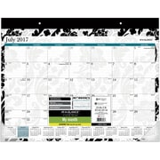 "2017-2018 AT-A-GLANCE® Academic Madrid Monthly Desk Pad, 12 Months, 22"" x 17"""