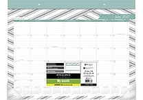 2017-2018 AT-A-GLANCE® 22' x 17' Sprinkle Academic Monthly Desk Pad, 12 Months (D1024-704A-18)
