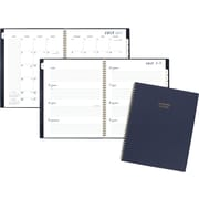 "2017-2018 AT-A-GLANCE® 8"" x 11"" Color Bar Academic Weekly/Monthly Planner, 12 Months, Navy (1067-905A-58-18)"
