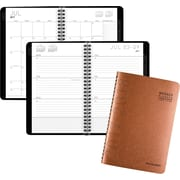 "2017-2018 AT-A-GLANCE® Academic Contemporary Weekly/Monthly Planner, 12 Months, Copper, 4-7/8"" x 8"""