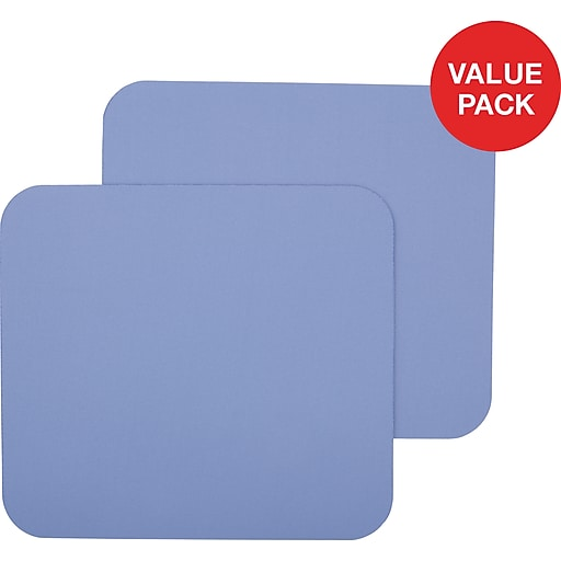 Staples Lavender Mouse Pad, 2 Count Value Pack
