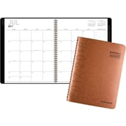 "2017-2018 AT-A-GLANCE® 8 7/8"" x 11"" Contemporary Academic Monthly Planner,12 Months, Copper (70-074X-70-18)"