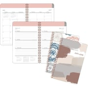 """2017-2018 Staples® 5 1/2"""" x 8 1/2"""" Small Academic Weekly/Monthly Planner,14 Months (14257-17)"""