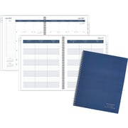 "2017-2018 AT-A-GLANCE® 8 1/2"" x 11"" Weekly/Monthly Teacher Planner, 12 Months, Navy (TP905A-20-18)"