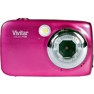 ViviCam 7122 7.1 MP Digital Camera, Pink
