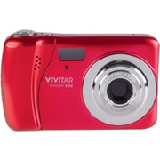 ViviCam X137 12.1 MP Digital Camera, Red