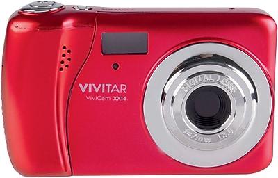 ViviCam X137 12.1 MP Digital Camera, Red