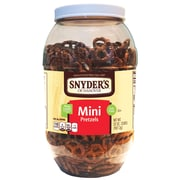Snyder's of Hanover Mini Pretzels, 32oz Canister