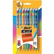 BIC® Mechanical Pencils #2, .9mm, 24/Pack (MPLWP241-BLK)