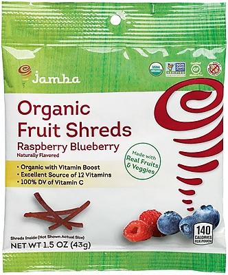 Jamba™ Raspberry Blueberry Fruit Shreds, 1.5 oz, 12/Ct