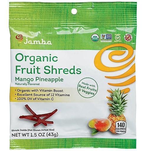 Jamba™ Mango Pineapple Fruit Shreds, 1.5 oz, 12/Ct
