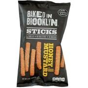 Baked In Brooklyn Snack Sticks, Honey Mustard, 8 oz, 12 ct