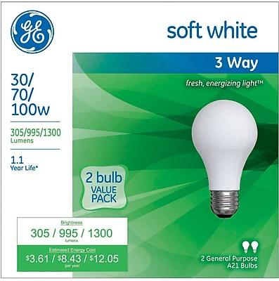 GE Incandescent 30-70-100 Watt 3-Way Bulb (97775)