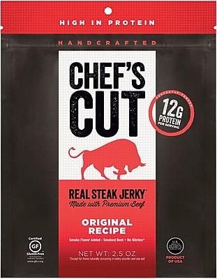 Chef's Cut Original Steak Jerky, 2.5 Oz., 1 Each