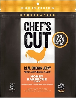 Chef's Cut, Honey BBQ Chicken Jerky, 2.5 oz.