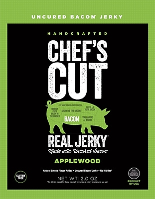 Chef's Cut Applewood Bacon Jerky, 2 Oz., Each